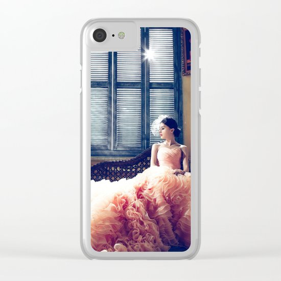 bride Clear iPhone Case