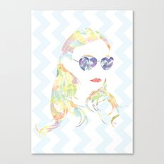 Aviator Sunglasses Canvas Print