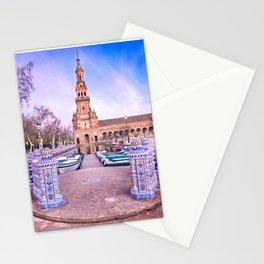 Plaza de España, Sevilla, Spain 1 Stationery Cards
