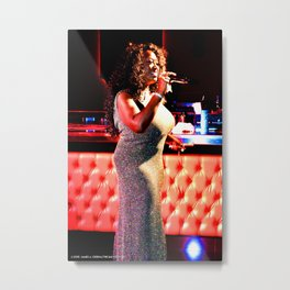 The Sparkling Keisha D Metal Print