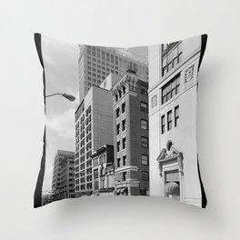 South Calvert Street, Baltimore Throw Pillow
