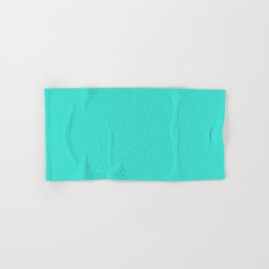 (Turquoise) Hand & Bath Towel