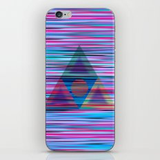 Lines and triangles iPhone & iPod Skin
