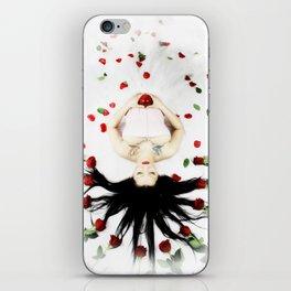 Red Rose SnoWhite iPhone Skin