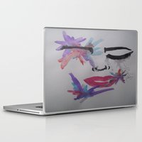 splatter Laptop & iPad Skins featuring Splatter. by TheArtOfFaithAsylum