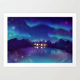 Northern Lights 2 Art Print