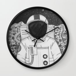 Spaceman Roy Wall Clock