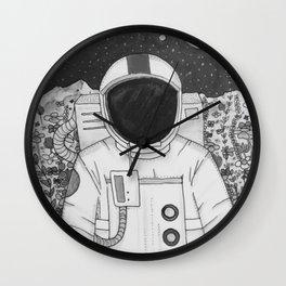Spaceman Roy Wall Clock