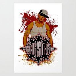 GangStarr Art Print