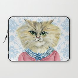Vernonica Dressed for Luncheon Laptop Sleeve