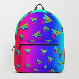 Rainbow Pizza Backpack