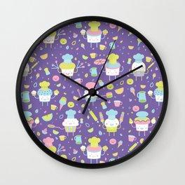 Tiny Chefs Wall Clock