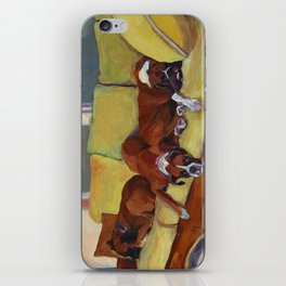 Boxer Dog Siesta iPhone Skin