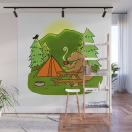 Mountain Air Booty Bear Wall Mural