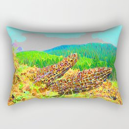 Pretty pretty clouds Rectangular Pillow