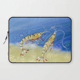 Swimming Together - Shrimp Laptop Sleeve