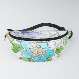 Floral II Fanny Pack