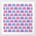 Polka Dot Cats by loeye