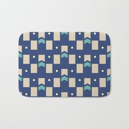 Art Deco Geometric Pattern 272 Bath Mat