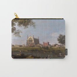 Eton College Chapel by Canaletto Carry-All Pouch