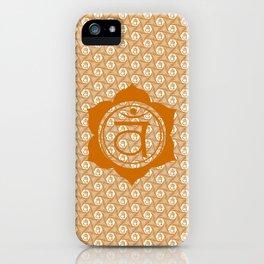 Swadhisthana Chakra Serie - MAM iPhone Case