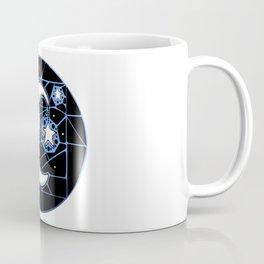 Moon and Stars Trellis Coffee Mug