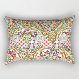 Design Confections Pattern on Pattern II Rectangular Pillow