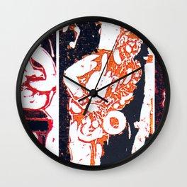 Jazzing it up          by Kay Lipton Wall Clock
