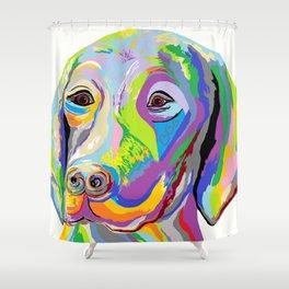 Weimaraner Shower Curtain
