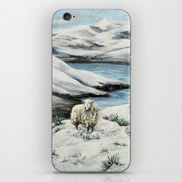 Snowed in'ya iPhone Skin