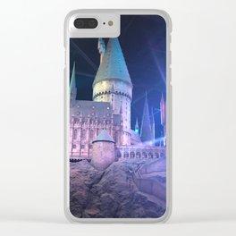 Hogwarts Model 3 Clear iPhone Case