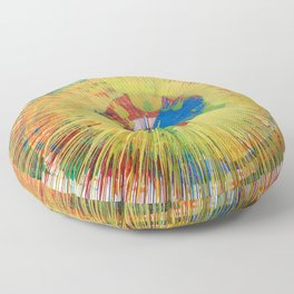 645rpm Floor Pillow