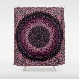 Rosewater Tapestry Mandala Shower Curtain