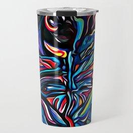 Water Colour Painting Travel Mug