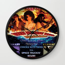 Vixen Highway 2006: It Came from Uranus! (2010)'. – Movie Poster Wall Clock