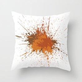Splatter #12 Throw Pillow