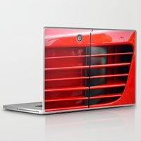 ferrari Laptop & iPad Skins featuring Ferrari Testarossa by Rainer Steinke