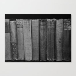 First Editions (wide view) Canvas Print