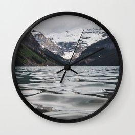 Lake Louise Mountain View Wall Clock