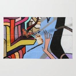 Kookaburra Graffiti Rug