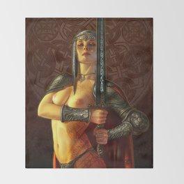 Espada Throw Blanket
