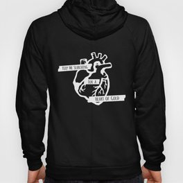 Keep Me Searching for a Heart of Gold Hoody