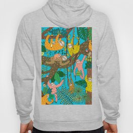 Happy Sloths Jungle Hoody