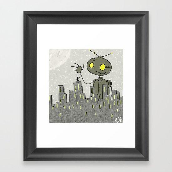 Greetings Framed Art Print