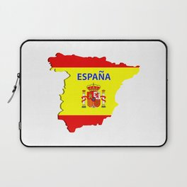 Spain map Laptop Sleeve