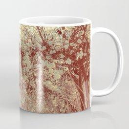 Hello Spring! (White Cherry Blossom by the Lake) Coffee Mug