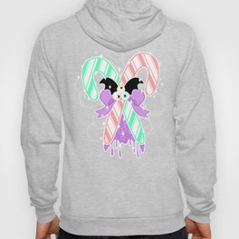 Candy Canes: Pastel Goth Version Hoody