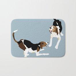 Coonhound Play Bath Mat