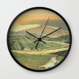 Glow - The Middle Wall Clock