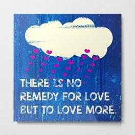 Love Cloud I Metal Print